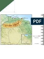 Map of  Adrar Infusen
