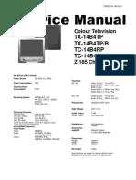 Panasonic TX-14b4tp b Tc-14b4rp b Ch z185