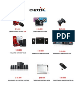 Lista Distribuidor Punto Tecnologico1103