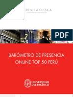 Barometro de Presencia Online Top 50 Peru 2009