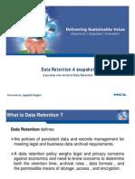 Data Retention a Snaphot