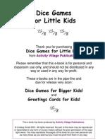 DiceGames for Kids