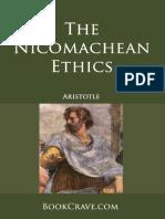 Aristotle - The Nicomachean Ethics