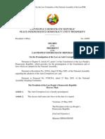 Anti Corruption & Decree (2005) Eng