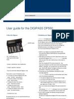 Digipass User Manual