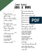 Alaba a Dios [D] - Full Score