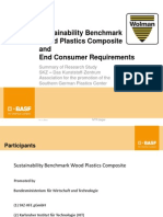Sustainability Benchmark WPC and End Cust Requirements