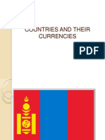 Flags and Currency