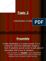 Classification of Data