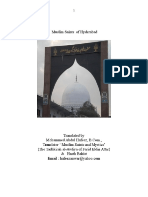 Muslim Saints of Hyderabad   Religion And Belief   Religion