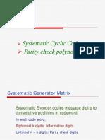13.CYclic Codes
