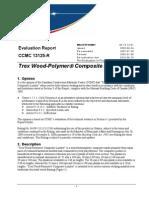 Trex WPC Evaluation Report