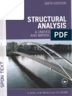 Structural Analysis, A Unified Classical and Matrix Approach, Ghali