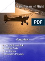 Airplane Parts and Theory of Flight