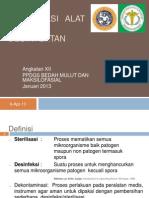 STERILISASI ALAT2