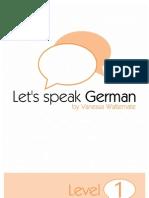 Let's Speak German Level 1