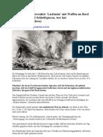9-11 von 1915- Versenkte 'Lusitania mit Waffen an Bord – Wrack- Überall Schleifspuren wer hat aufgeräumt