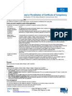 CC4 Application for Renewal or Revalidation of Certificate of Competency