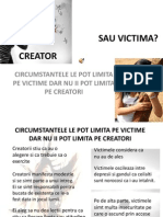 Creator Sau Victima