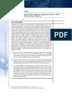 Worldwide Purpose Built Backup Appliance 2011-2015 Forecast and 2010 Vendor Shares