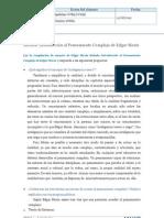 INTRODUCCIÓN AL PENSAMIENTO COMPLEJO ACTIVIDAD