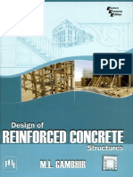 Design of Reinforced Concrete Structures m.l Gambhir 2008