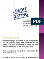 Credit Rating Heena