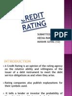 Credit Rating Heena