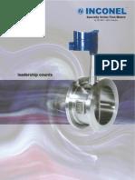 Vortex FlowMeter ProductCatalogue Inconeel