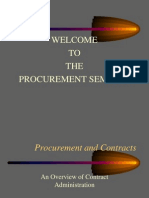 Procurement Seminar