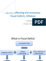 Factors Affecting the Economy