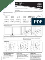 Sliding Window Lock Installation