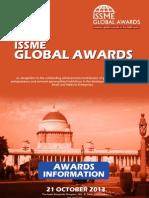ISSME Global Awards 2013