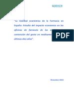Estudio sobre la situacion economica de las farmacias (año 2010)
