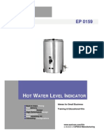 Hot Water Level Indicator