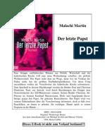 Malachi,Martin - Der Letzte Papst
