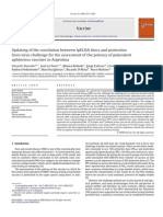 Updating of the Correlation Between LpELISA Titers and Protection From Virus Challenge for the Assessment of the Potency of Polyvalent Aphtovirus Vaccines in Argentina