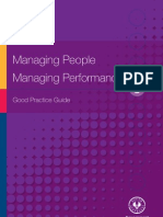 Managing People Managing Performance Good Practice Guide