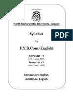 2009-10 F.Y.B.Com. English