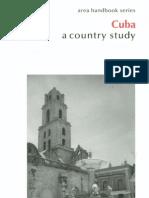 Area Handbook - Cuba