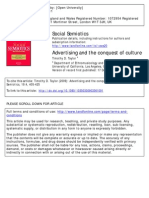 Advertising and the Conquest of Culture