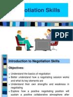 Negotiation Skills 130406