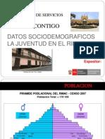 Datos Socio Economico Juventudes Rimac