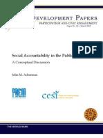 Ackerman Social Accountability