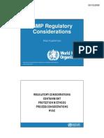 1-4 GMP RegulatoryConsiderations