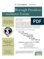 QCC Candidates Night Flyer