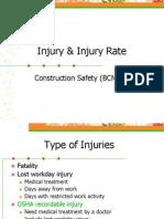 Injury and Injury Rate