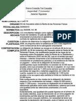 Consulta respecto a la obligación de declarar en caso de subrogación