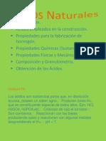 Acidos NAturales - Trabajo 2 Equipos y Materls