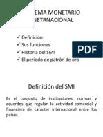 Sistema Monetario Inetrnacional